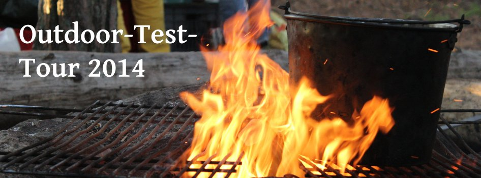 Kochtopf im Lagerfeuer