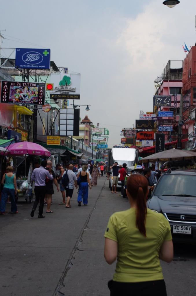 Auch bei hoher Temperatur & Luftfeuchte in Bangkok ist das Shirt geruchshemmend