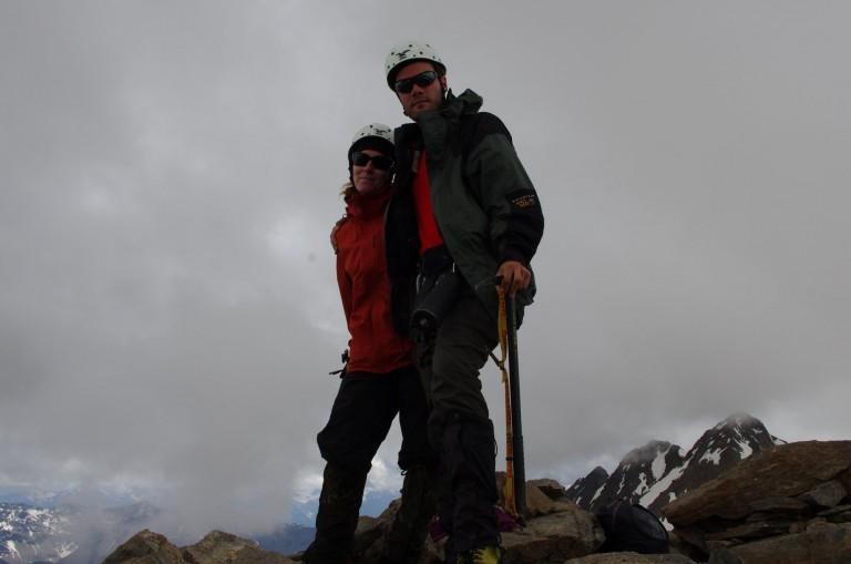 Gipfelfoto auf 3402m am Hauslabkogel