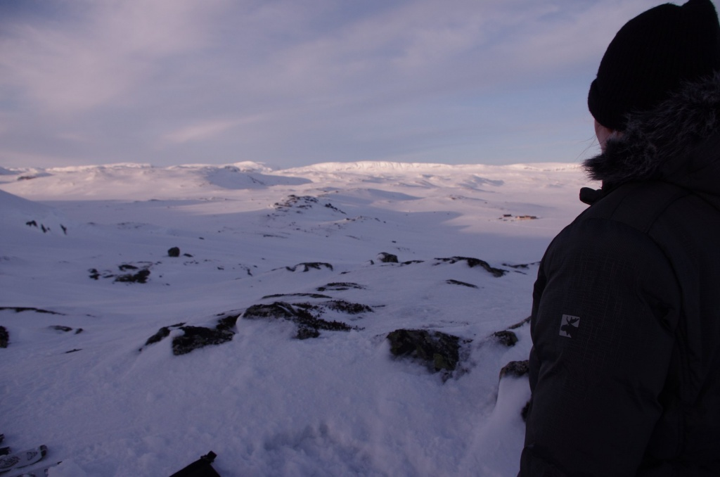 Hardangervidda tief verschneit