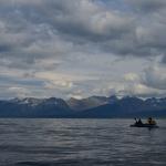 Bei ruhiger See schaffen wir viel Strecke