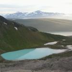 Gletscherspuren in der Landschaft