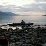 Am Horizont erahnt man die offene See des Europäischen Nordmeeres