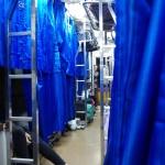 Im Nachtzug Richtung Bangkok