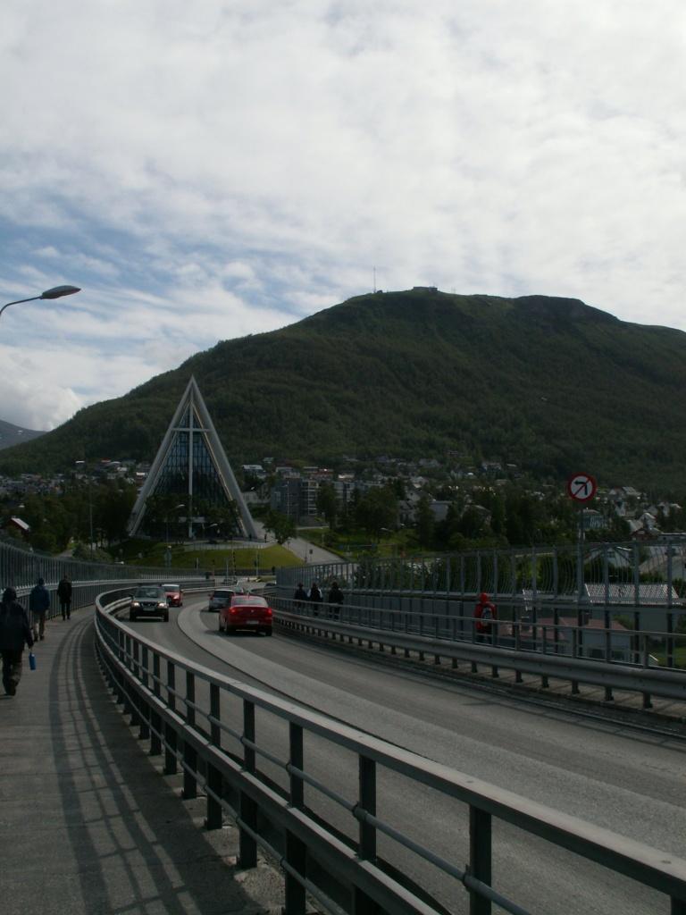 Arctic Cathedral beim Besuch von Tromsø