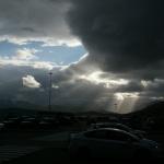 Norwegen verabschiedet sich eindrucksvoll am Flughafen Tromsø