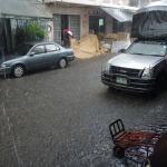 In der Nebensaison regnet es kurz aber intensiv