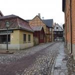 Hier wirkt das Norsk Folkemuseum wie eine Filmkulisse