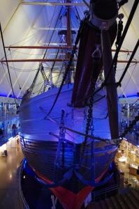 Bug des Polarschiffes Fram