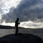 Sowas wie Streetfishing am Rande Bergens