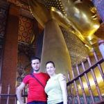 Der 46m lange liegende Buddha des Wat Pho