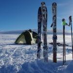 Unsere Ausrüstung ist wieder vom Schnee befreit