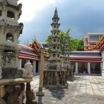 Tempelareal des Wat Pho in Bangkok