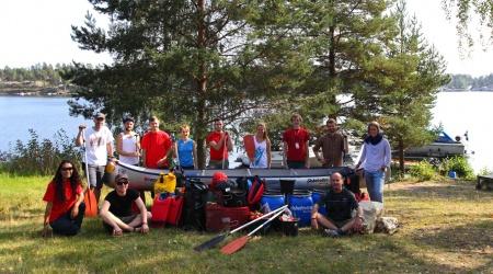 Die Guides und wir als glückliche Gewinner der OTT