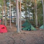 Die Möglichkeit verschiedene Zelte zu testen gibt es auch