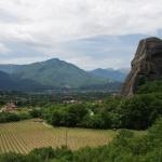 Blick zur Ortschaft Kastraki