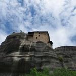 Das kleine Kloster Agios Nikoláos ist etwas weniger besucht aber schön