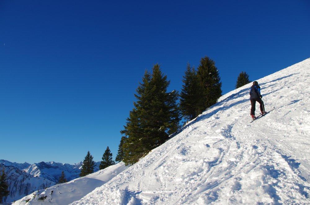 Gipfelhang der Hochplatte