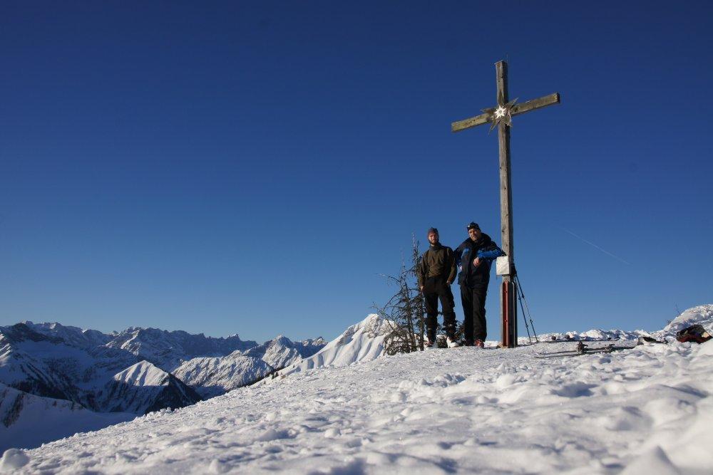 Gipfelkreuz der Hochplatte