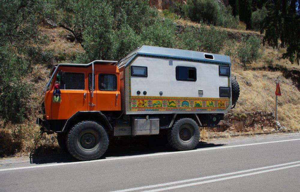 Offroad Lkw in Griechenland