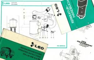 Originalunterlagen zum IFA L60 1218 4x4