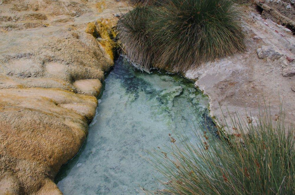 Schwefelwasser bei den Thermopylen
