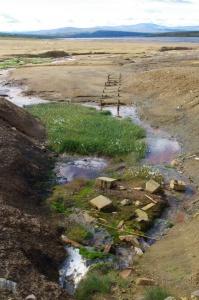 Abwasser mitten in der Natur Norwegens