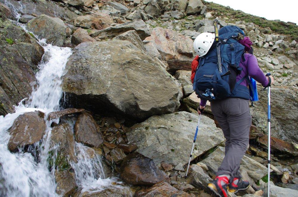 Alpenbach mit Trinkwasserqualität